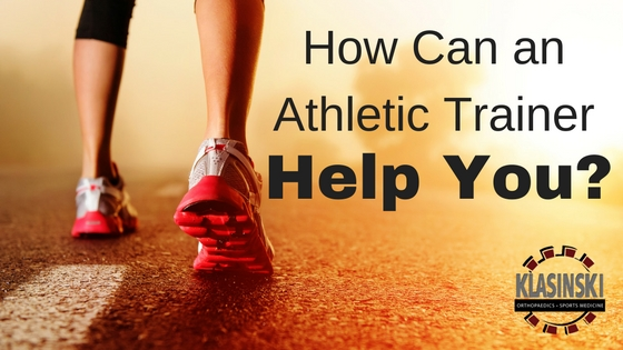 How Can Our Athletic Trainers Help You?