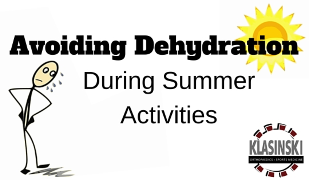 Avoid Dehydration During Summer Activities