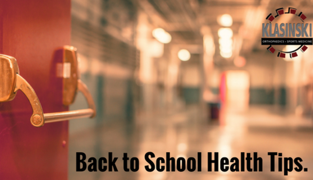 Back to School Health Tips for Kids and Parents