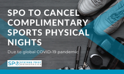 SPO to Cancel Complimentary Sports Physical Nights