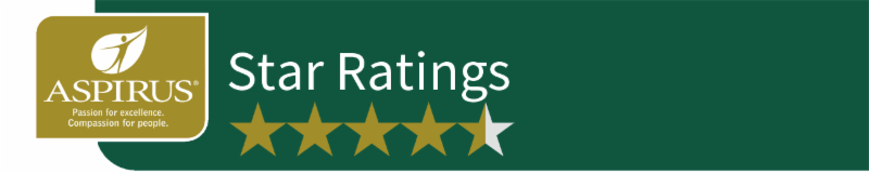 Aspirus Star Ratings