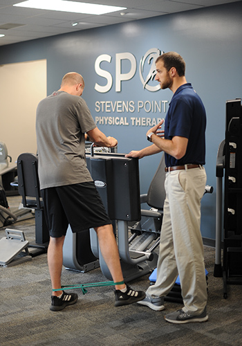 SPO Physical Therapy client session